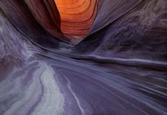 The short Wave Slot Canyon at The Wave in Coyote Buttes North