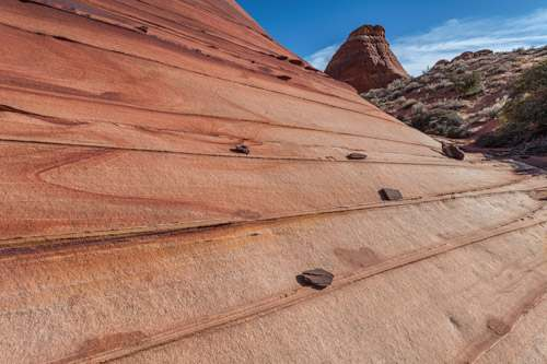 Sandstone Detail at The North Teepees