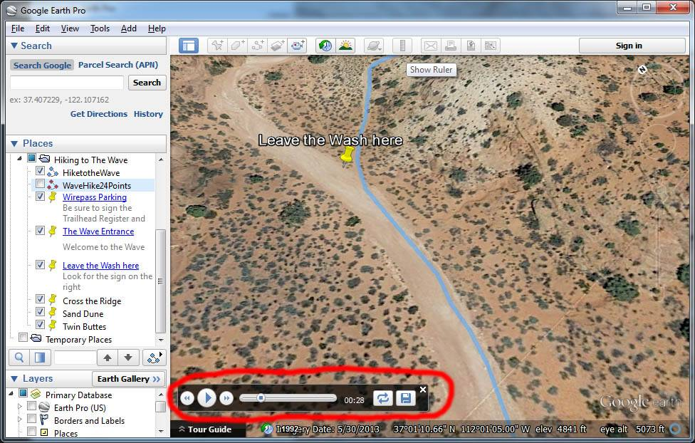 Creating a Movie in Google Earth