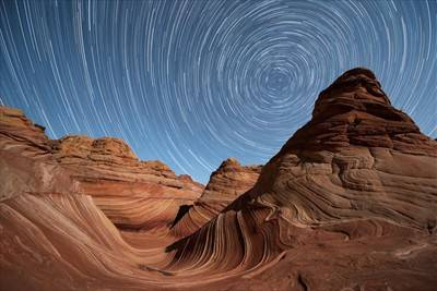 The Wave Star Trail
